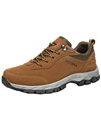 Men Hiking Shoes Outdoor Sports Wear-Resistant Running Fitness Mesh Casual Shoes