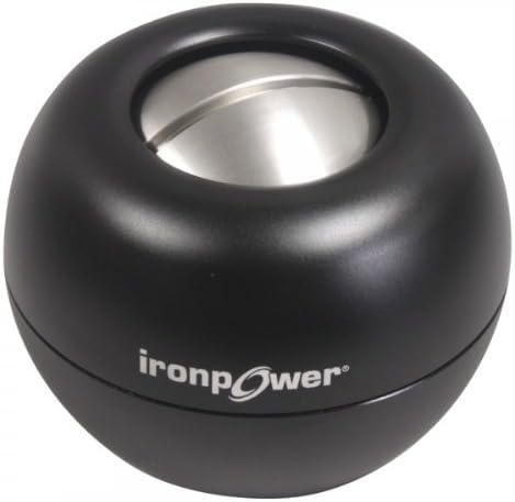 DFX Iron Power Force Steel Gyro Metal Powerball, Black