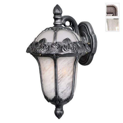Special Lite Products F-3711-SW-SG Rose Garden Top Mount Light with Seedy Glass, Large, Swedish -