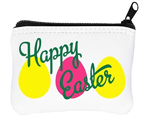 Easter Portefeuille Design À Porte Happy Eggs monnaie Glissière dtfTwx