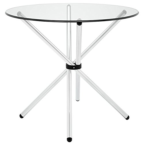 Modway Baton Dining Table in Clear