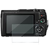 Awinner Glass for Olympus Tough TG-5, Camera Screen Protector Anti-scratch Tempered Glas (2-Pack)
