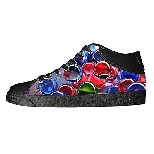 Custom Stampa 3D stereoscopica Men's Canvas Shoes I Lacci delle Scarpe in Alto Sopra Le Scarpe da Ginnastica di Scarpe Scarpe di Tela.
