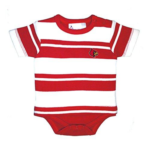- Louisville Cardinals NCAA Newborn Baby Rugby T-Shirt Creeper (6 Months)