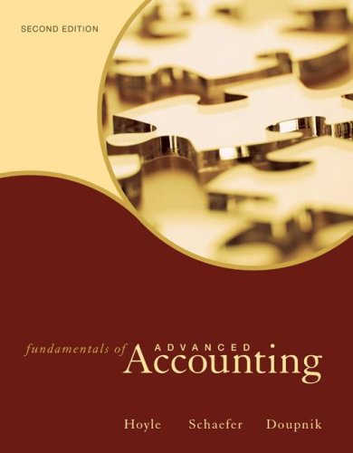 Advanced Accounting Book Pdf
