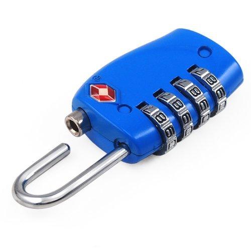 lock Azul Viaje Código número Re De Daños Equipaje Maleta 4 Aulola® Dígitos Sin Tsa Y Comprobar Seguridad Candado Pin RwU1qRZf