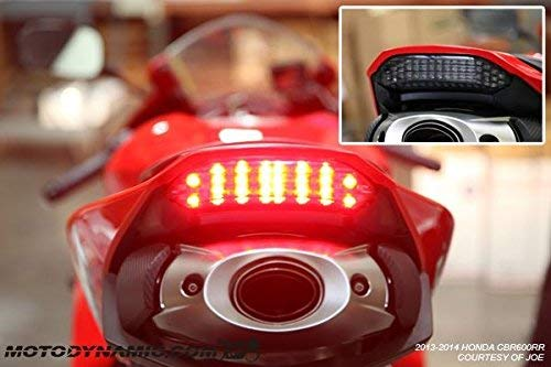 - Sequential Integrated LED Tail Light Compatible with Honda CBR600RR 2013-2019