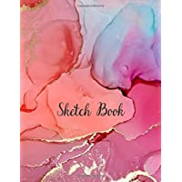 Sketch Book: Notebook for Drawing, Writing, Painting, Sketching or Doodling, 110 Pages, 8.5x11 (Premium Abstract Cover…