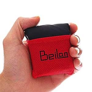 BeiLan Manta Mini Bolsillo de Picnic artículo Ligero Arena Impermeable a Prueba de Playa Colchoneta de Viaje con Bolsa de portátil para el Aire Libre Actividades 70 * 110cm