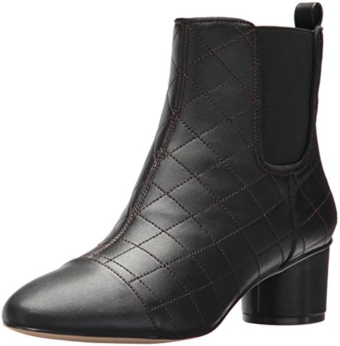 Nine West Women's Interrupt Ankle Boot, Black Multi Leather, 7.5 Medium US (Dress Leather Boots Womens)