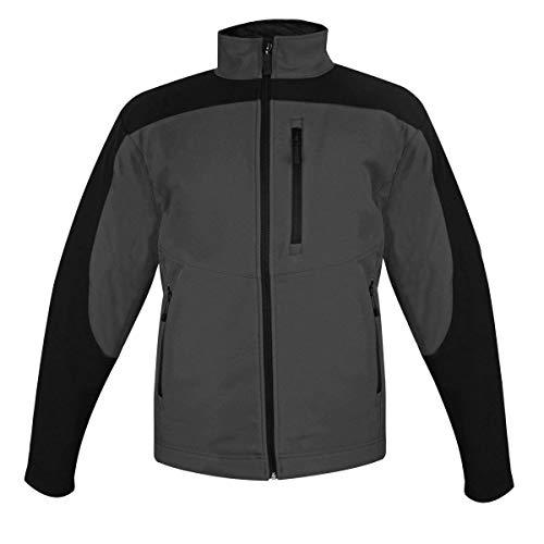 Storm Creek Men's Gray/Black StormX Soft Shell Jacket - X-Large