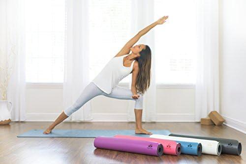 Amazon.com: Esterilla de yoga antideslizante, se mantiene ...
