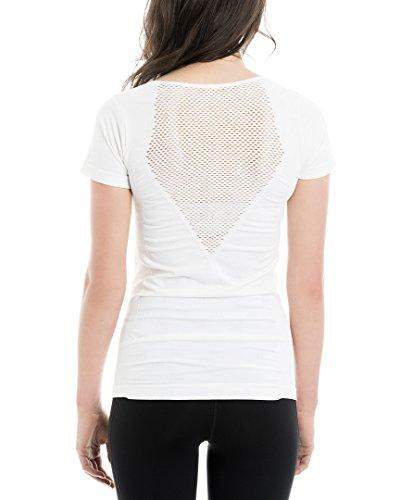 LOLE Graceful Top, White, Small/Medium