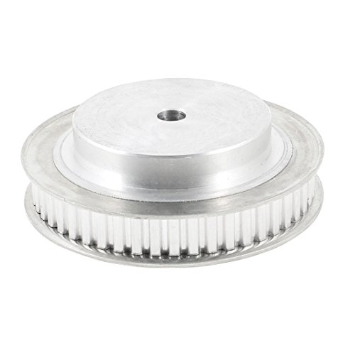 uxcell Aluminum Alloy XL Type 50 Teeth 8mm Pilot Bore Timing Pulley by uxcell (Image #2)