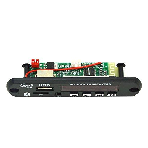 qjoy Wireless Bluetooth MP3WMA decodificador de 12V Junta Módulo de audio TF USB Radio para coche