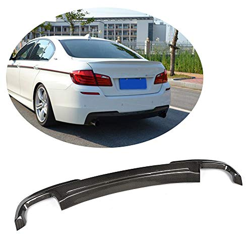 (MCARCAR KIT For BMW 5 Series F10 528i 535i 535i 550i M Sport 2012-2016 Customized CNC Moulding Top-fit Rear Bumper Lower Diffuser (Carbon Fiber HAMANN Look Rear Bumper))