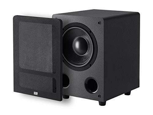 (Monoprice Premium Select 8-inch 200-Watt Subwoofer (Black))