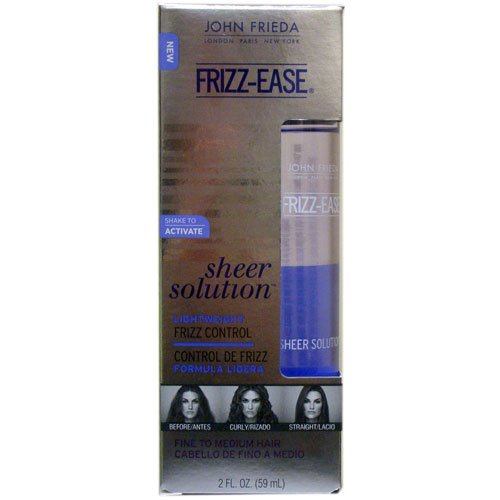 John Frieda Frizz-Ease Sheer Solutions Control, 2 Ounce 6 pack