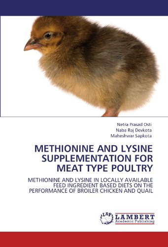 METHIONINE AND LYSINE SUPPLEMENTATION FOR MEAT TYPE POULTRY: METHIONINE AND LYSINE IN LOCALLY AVAILABLE FEED INGREDIENT BASED DIETS ON THE PERFORMANCE OF BROILER CHICKEN AND QUAIL