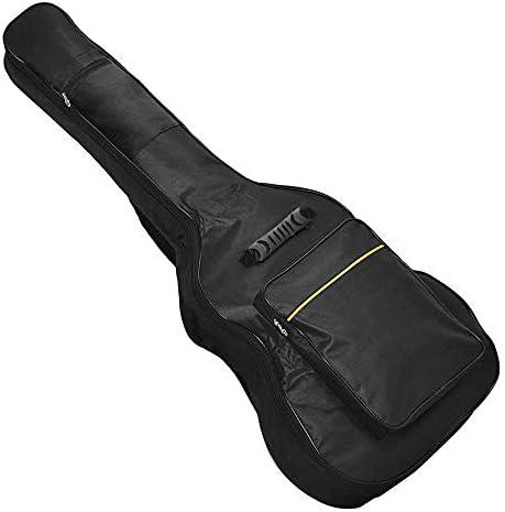 OcioDual Funda de Guitarra Clásica Universal Bolsa Acolchada con 2 Bolsillos para Guitarras Acústica 41 Pulgadas Negra: Amazon.es: Electrónica