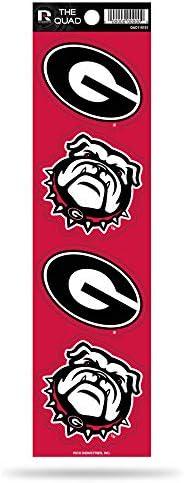 Rico NCAA Georgia Bulldogs Quad Decal
