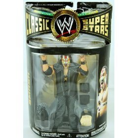 Super Star Belt (WWE - Classic Super Stars - Smash Figure - Collector Series #14 - Includes Mask & Champiosnhip Belt - Limited Edition - Mint - Collectible - (S))