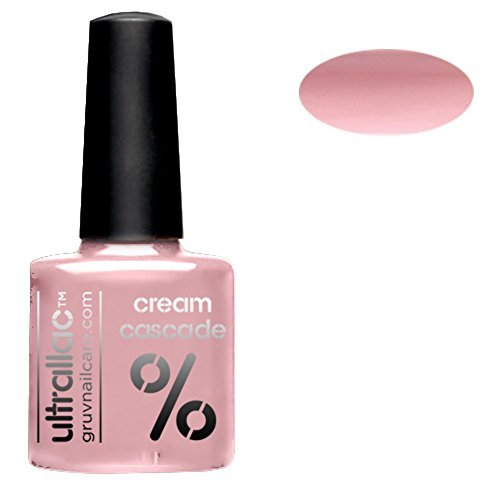 Ultrallac Semi Permanent UV Gel Polish colour: Cream Cascade by GRUV