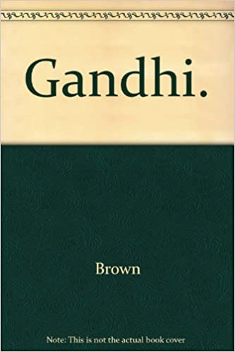 Gandhi Prisoner Of Hope Judith M Brown 9780300051254 Amazon