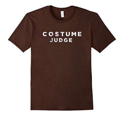 Mens Costume Judge Outfit, Funny Halloween Black Tshirt Party 2XL (Judge Outfit)