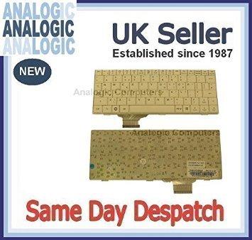 Nuevo para Asus Eee PC 701SD NETBOOK MINI ordenador portátil Inglés teclado Reino Unido Layout blanco color: Amazon.es: Informática