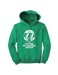 TeeStars - Future Motocross Rider - Born To Be a Motocross Driver Toddler Hoodie