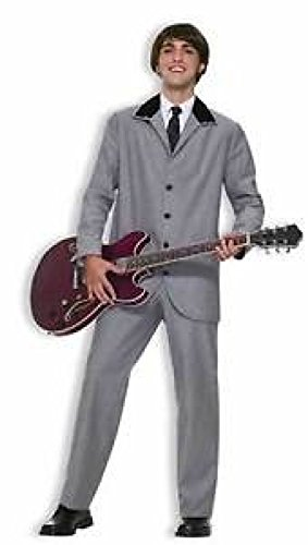 Beatles Costume British Invasion Suit 60S Rocker