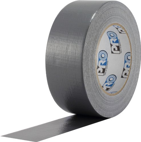 - ProTapes Pro Duct 100 PE-Coated Cloth Economy Duct Tape, 60 yds Length x 2