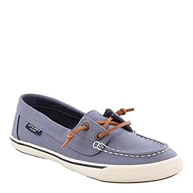 Sperry Womens STS80688 Lounge Away Multi Size: 6 Grey/Blue