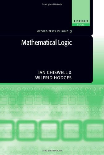 Download Mathematical Logic (Oxford Texts in Logic) Pdf