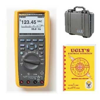 Industrial Digital Multimeter, 10A, 1000V