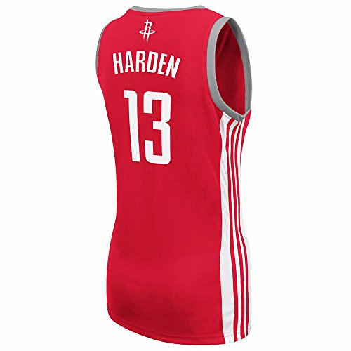 60%OFF James Harden Houston Rockets NBA Adidas Women s Red Replica Jersey 9065eff7c
