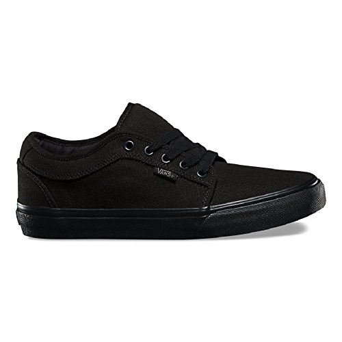 Vans Men's Chukka Low Blackout Skate Shoe 10.5 Men US