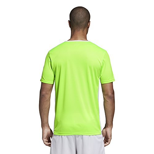 Uomo T Entrada 18 white Solar Adidas shirt Green dEISqSw