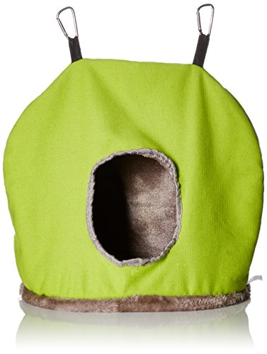 Prevue Pet Products BPV1165 Plastic/Fleece Snuggle Sack Bird Nest, Jumbo (Prevue Nest)