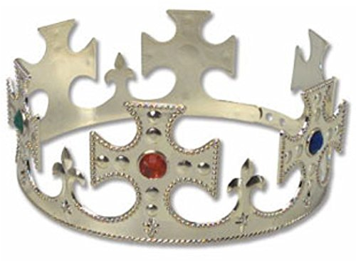 Gold Jewel King Crown