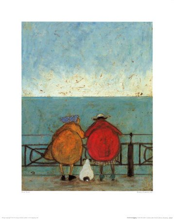 Amazon.com: Doris Earwigging Art Poster Print by Sam Toft, 16x20 ...