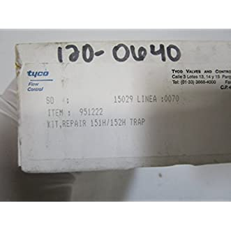 Tyco Yarway 151H-152H Steam Trap Repair Kit, 951222