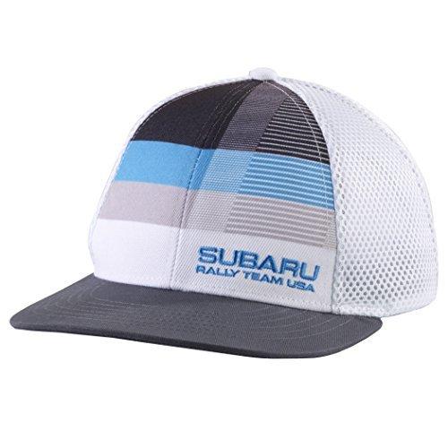 (Subaru Offical Rally Flatbill Hat Ball Cap)