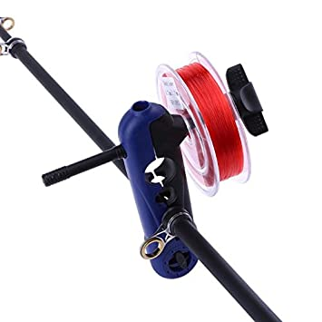 Portable Universal Adjustable Fishing Line Spooler for Rod Reel Winder Board