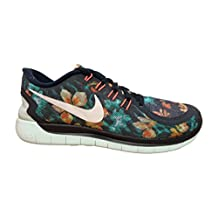 nike free 5.0 PHOTOSYNTH womens trainers 724517 sneakers shoes (us 8.5, dark obsidian white total tnt hot lava 401)