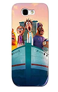 New Cloudy With A Chance Of Meatballs 2 Tpu Case Cover, Anti-scratch Crazinesswith Phone Case For Galaxy Note 2