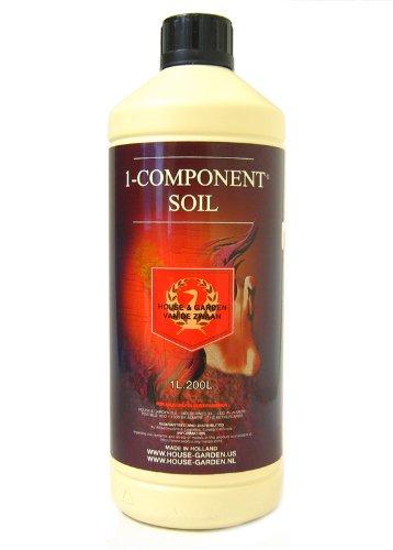 House & Garden HGCMP01L 1-Component Soil Nutrient Fertili...