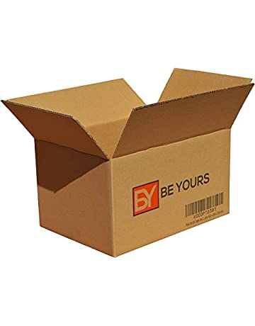 BeYours Pack de 20 Cajas de Cartón - 430 x 300 x 250 mm - DISPONIBLE
