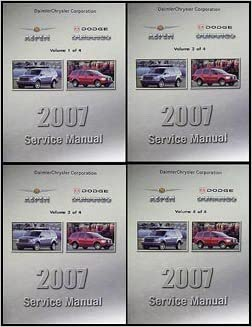 2007 dodge durango service manual